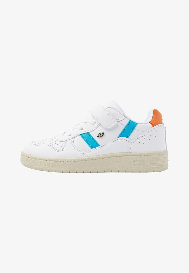 RAWW - Sneakers laag - white/blue/orange