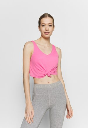 DOUBLE TROUBLE TANK - Top - aurora pink