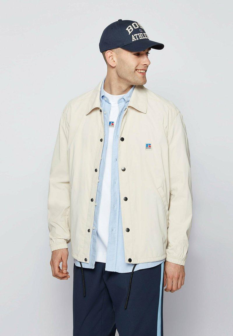 BOSS - Summer jacket - light beige