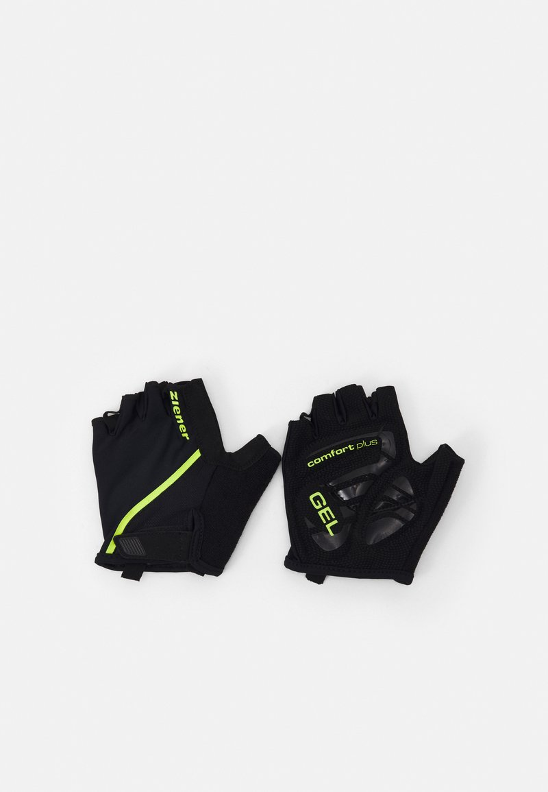 Ziener - CELAL BIKE GLOVE - Fingerless gloves - black
