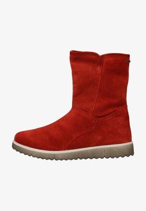Platform boots - oriente (rot)