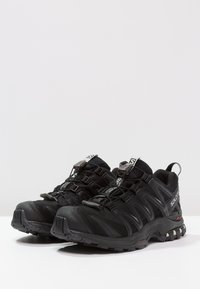 Salomon - XA PRO 3D GTX - Trail running shoes - black/black/mineral grey - 2
