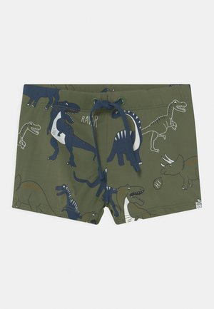 TRUNKS DINO - Swimming trunks - khaki