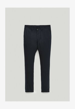 Chino - blue-black denim