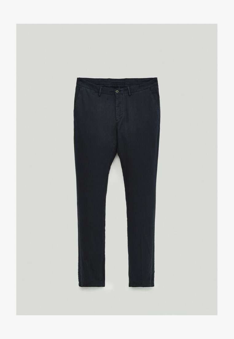 Massimo Dutti - Chinos - blue-black denim