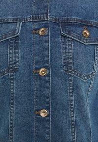 ONLY - ONLALLY FRILL JACKET - Denim jacket - medium blue denim - 2