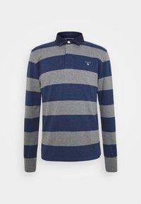 ORIGINAL HEAVY RUGGER - Polo shirt - dark grey melange