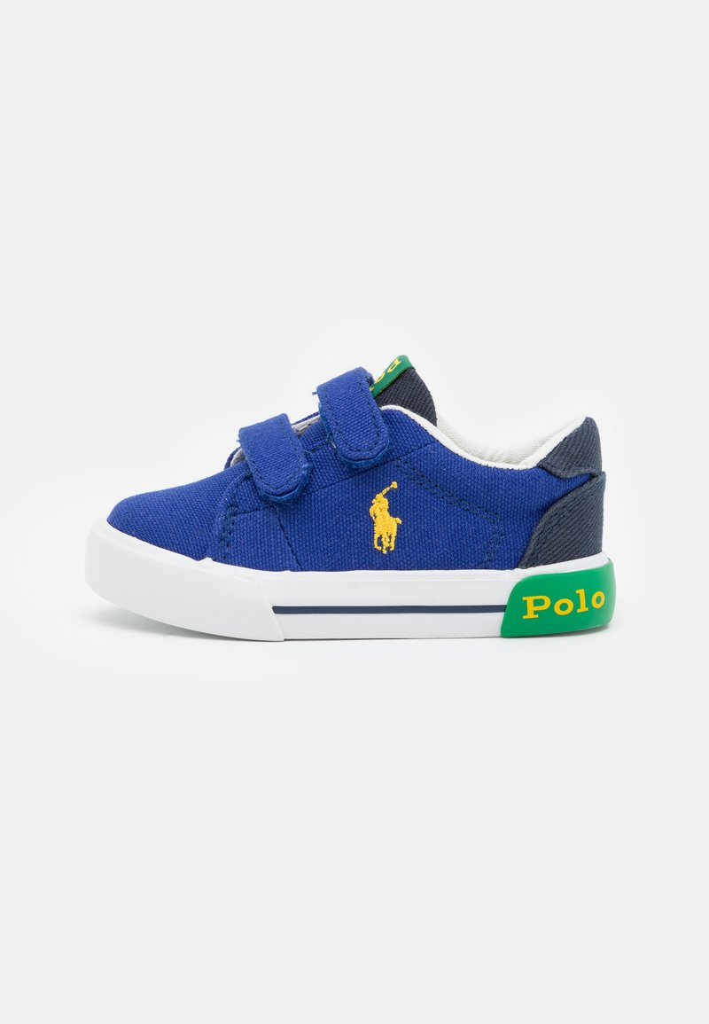 Polo Ralph Lauren - GRAFTYN UNISEX - Sneakers - royal/navy/green/yellow