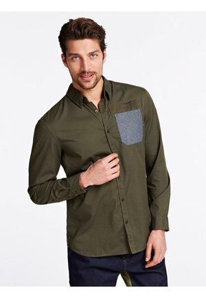 Koszula - mehrfarbig, grün