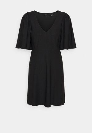 VMODETTA SHORT DRESS - Jersey dress - black