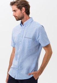 BRAX - STYLE DAN - Shirt - LIGHT BLUE - 0
