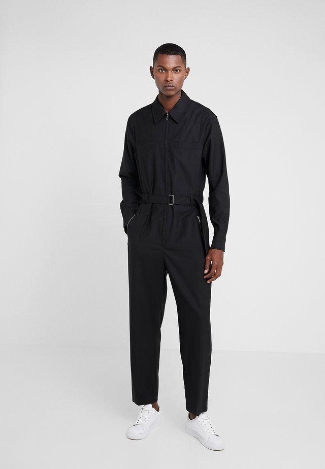 SUITING  - Spodnie materiałowe - black