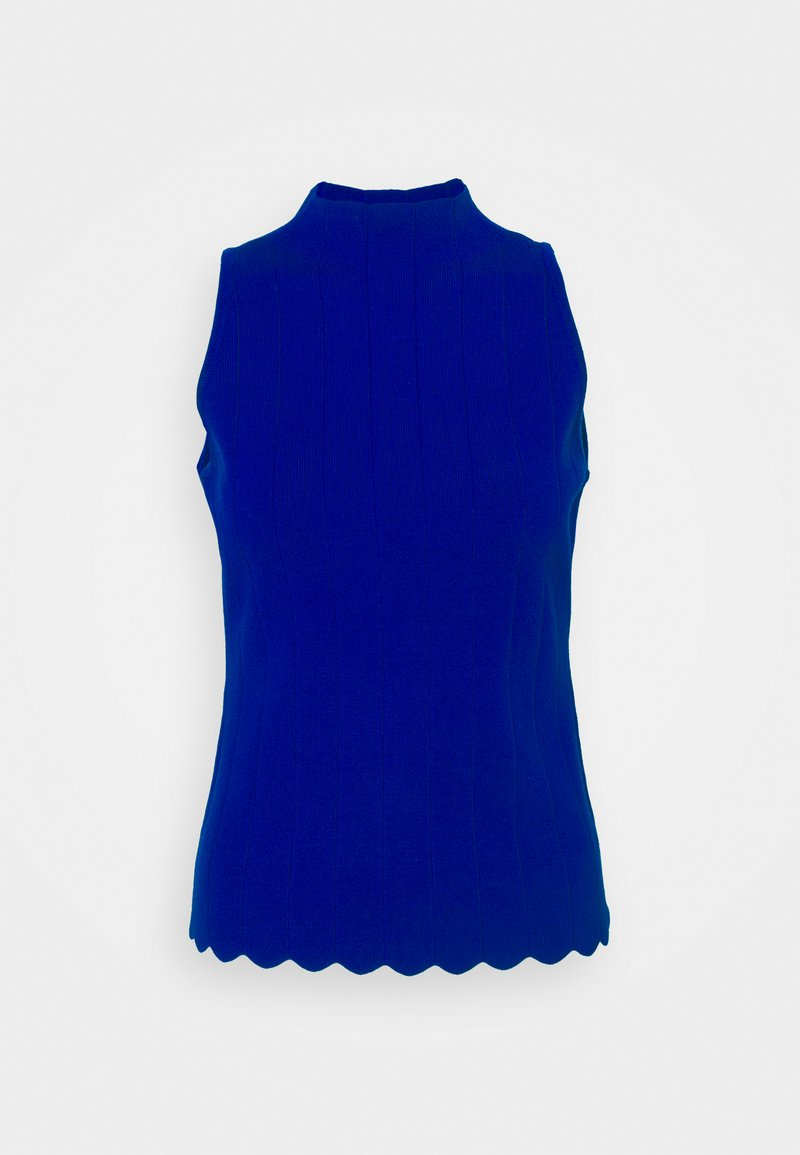 Milly - RIBBED SCALLOP - Jumper - azure