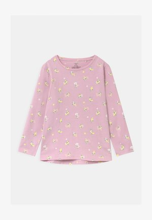 MINI BASIC PRINT - Long sleeved top - dusty pink