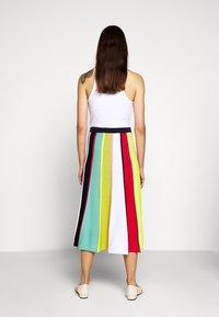 J.CREW - RAINBOW STRIPE SKIRT - A-line skirt - navy/bohemian rose/multi - 2