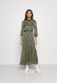 Vero Moda - VMBERTA ANKLE DRESS  - Vestito lungo - fir green - 0