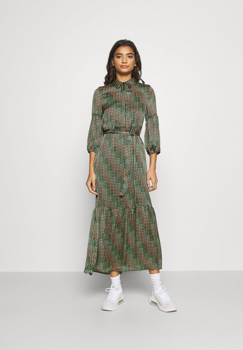 Vero Moda - VMBERTA ANKLE DRESS  - Vestito lungo - fir green
