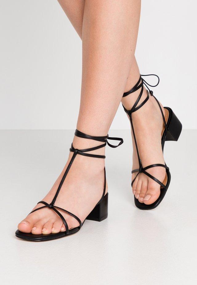 GENESIS - Sandals - black