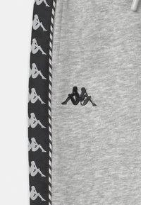 Kappa - IRENEUS UNISEX - Pantalones deportivos - mottled grey - 2