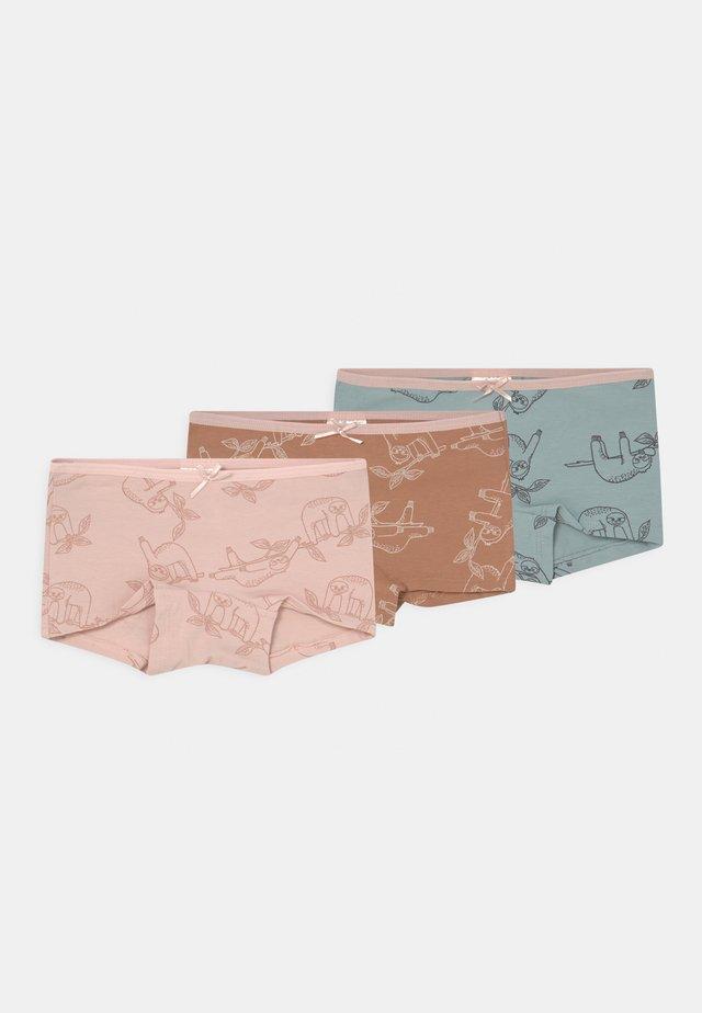 MINI SLOTH 3 PACK - Boxerky - light dusty pink