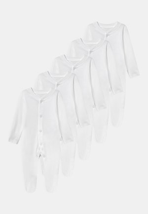BABY 5 PACK UNISEX - Dupačky na spaní - white