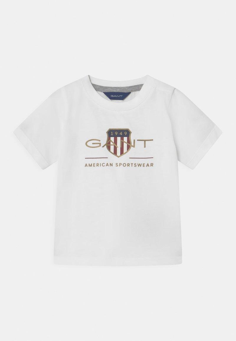 GANT - ARCHIVE SHIELD - Print T-shirt - white