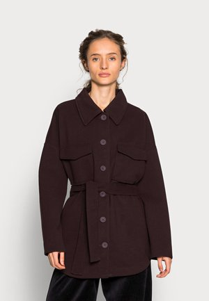 ALEXIA JACKET - Short coat - chocolate plum