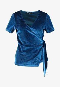 Fashion Union - T-shirts med print - blue - 4