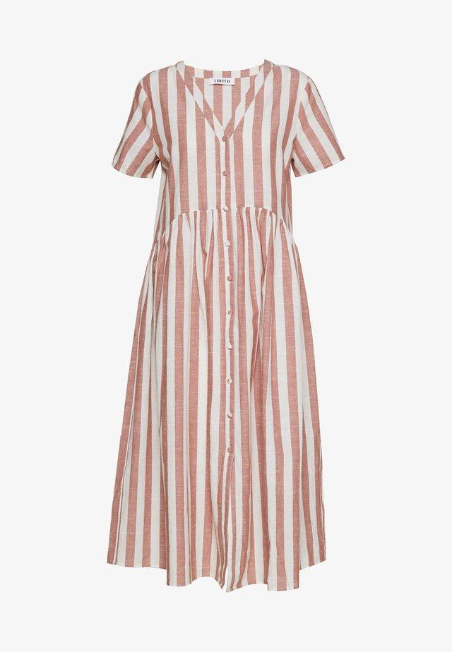 ELENIE DRESS - Shirt dress - mischfarben