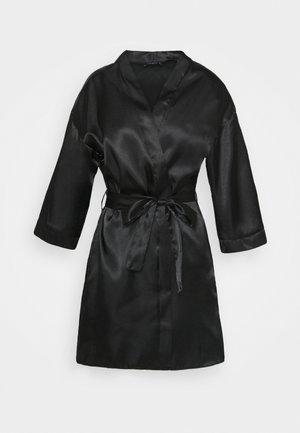 Badekåpe - black