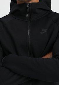 Nike Sportswear - TECH FULLZIP HOODIE - Hoodie met rits - black - 5