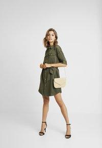 Vero Moda - VMJANE DRESS - Shirt dress - ivy green - 2