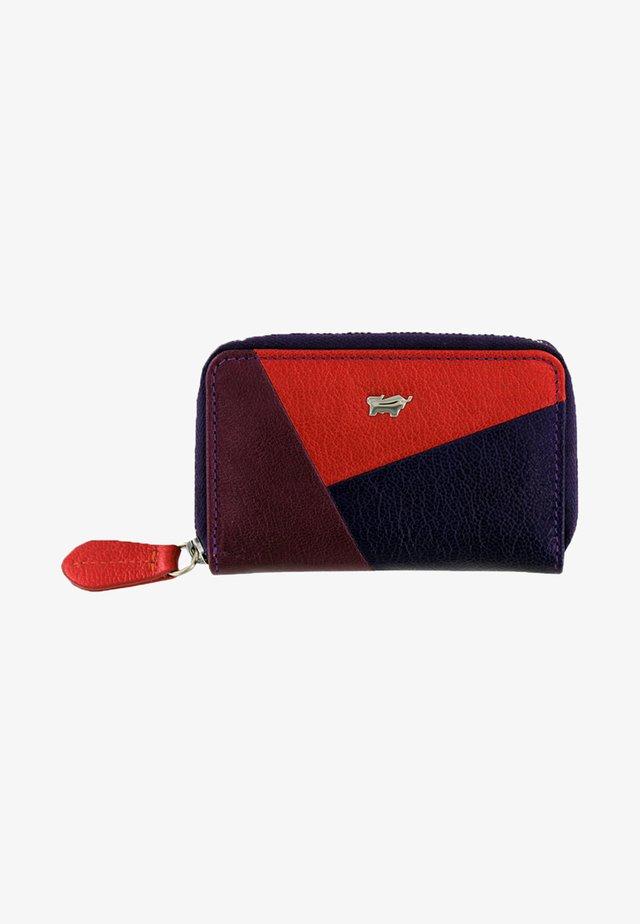 MIT SCHLÜSSELRING - Wallet - multi-coloured