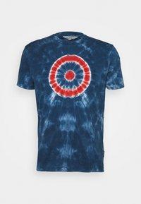 Ben Sherman - TARGET TEE - Print T-shirt - indigo - 0