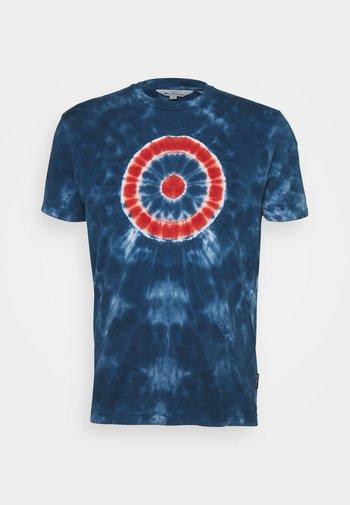 TARGET TEE - Print T-shirt - indigo
