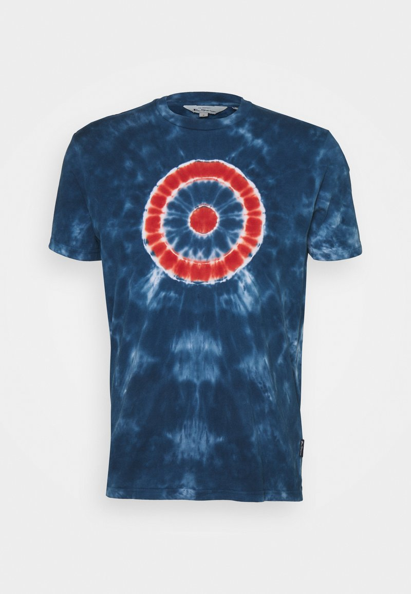 Ben Sherman - TARGET TEE - Print T-shirt - indigo