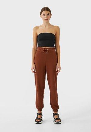 Spodnie treningowe - brown