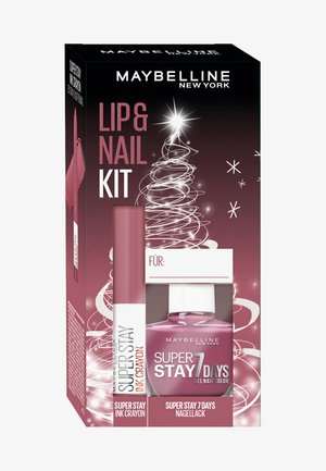 LIP + NAIL KIT 4 - Make-up Set - -