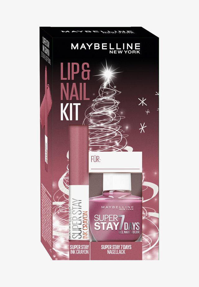 LIP + NAIL KIT 4 - Set de maquillage - -