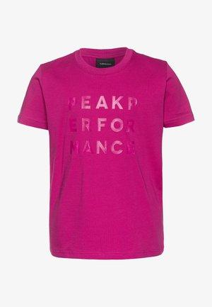 GROUND  - Triko spotiskem - pink