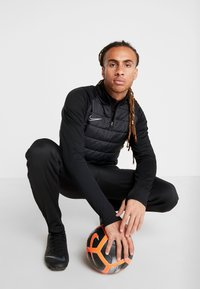 Nike Performance - DRY PAD ACADEMY WINTERIZED - Sweat polaire - black/silver - 1