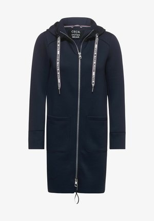 Zip-up hoodie - deep blue