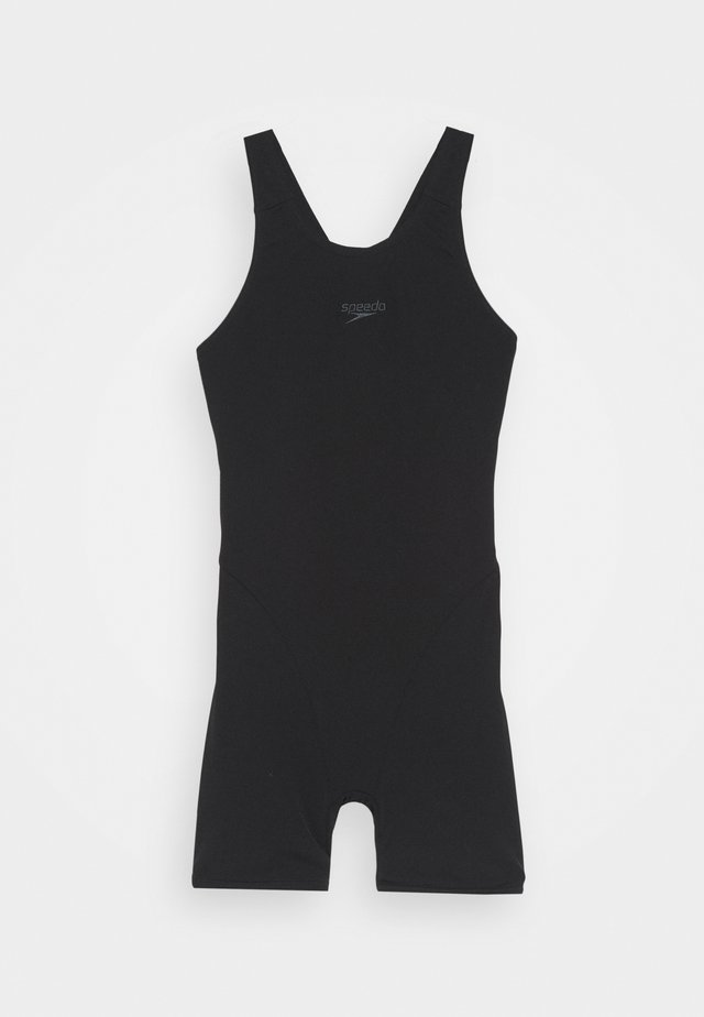 ESSENTIAL ENDURANCE+ LEGSUIT - Swimsuit - black/oxid grey