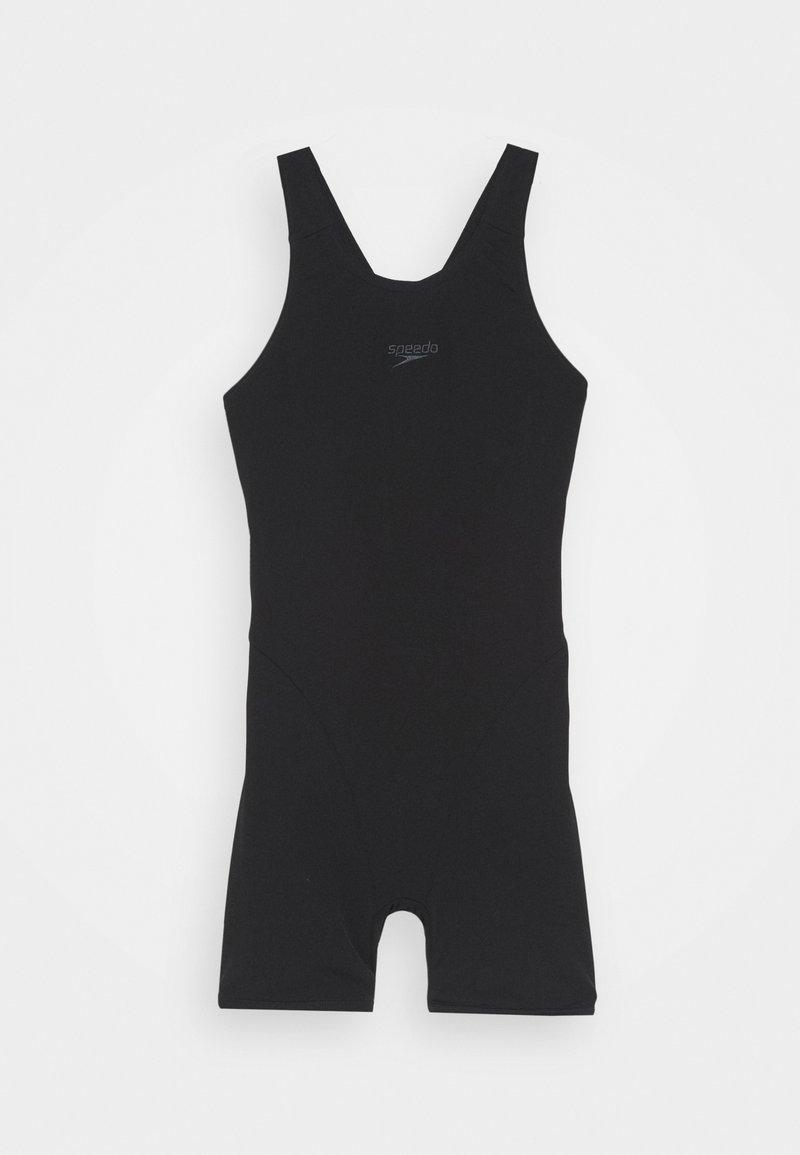 Speedo - ESSENTIAL ENDURANCE+ LEGSUIT - Swimsuit - black/oxid grey