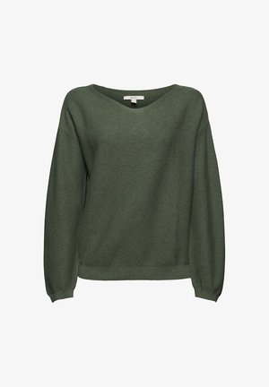 Jumper - khaki green