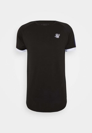 FADE RUNNER TECH TEE - Basic T-shirt - black