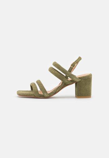 BIABEONNA STRAP  - Sandals - pale green