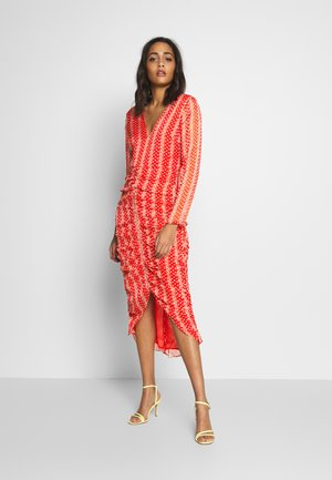 LILIANA MIDI DRESS - Day dress - aurora red