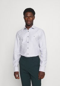 Tommy Hilfiger Tailored - DOBBY TEXTURE SHIRT - Formal shirt - white/navy - 0