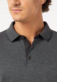 Pierre Cardin - GESTREIFT - Polo shirt - schwarz - 4